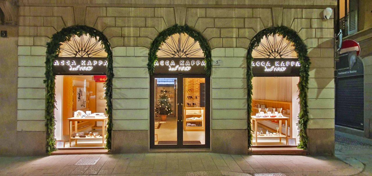 Acca Kappa apre a Milano la sua boutique esclusiva.