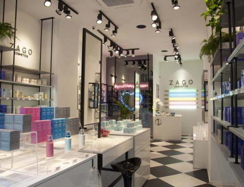 ZAGO COSMETICS: Primo store a Milano