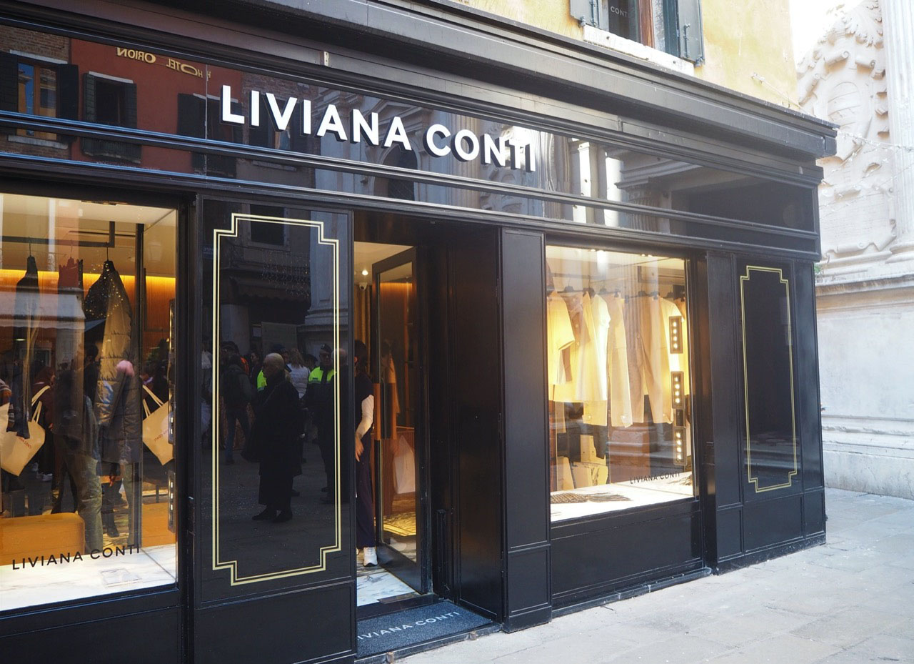 Liviana Conti opens its first boutique in Venice