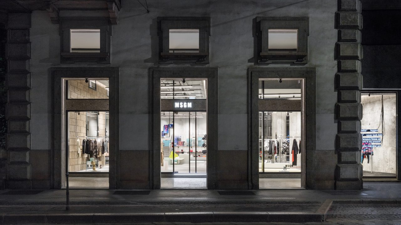 Msgm: new flagship for its tenth anniversary