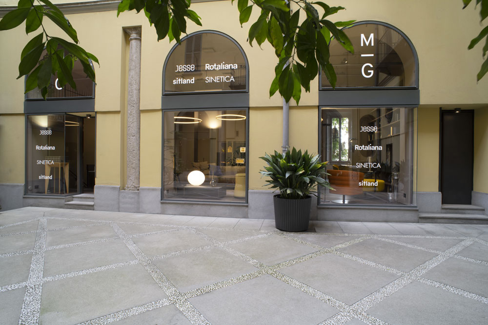 MIG opens its showroom in via della Spiga