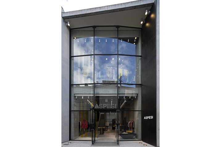 Aspesi opens its new flagship store in Tokyo
