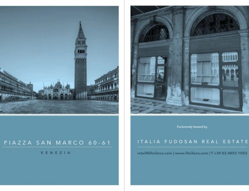 New exclusive mandate for retail space in Piazza San Marco – Venice